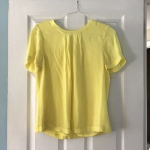 Yellow Jcrew top